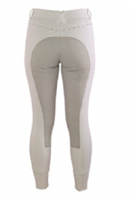 TAGG STELLAR WHITE  FULL SEAT CRYSTAL  BREECHES
